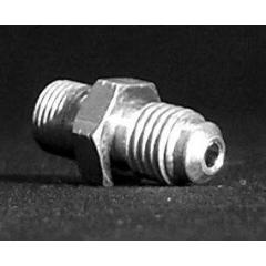 Adapteris su išoriniu sriegiu Venhill POWERHOSEPLUS 3/60125AC 10x1.25mm convex , chromas
