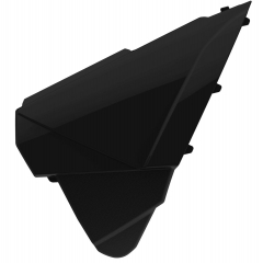 Airbox covers POLISPORT , juodos spalvos