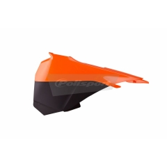 Airbox covers POLISPORT orange KTM/black