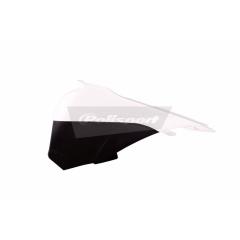 Airbox covers POLISPORT white/black