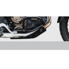 Aluminum Trail Engine Guard CROSS-PRO , juodos spalvos