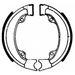Būgninių stabdžių trinkelės FERODO 225129003