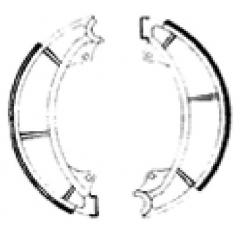 Būgninių stabdžių trinkelės FERODO 225129244