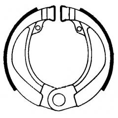 Būgninių stabdžių trinkelės FERODO 225129203