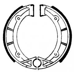 Būgninių stabdžių trinkelės FERODO 225129202