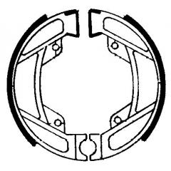 Būgninių stabdžių trinkelės FERODO 225129054