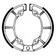 Būgninių stabdžių trinkelės FERODO 225129060