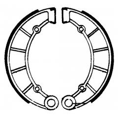 Būgninių stabdžių trinkelės FERODO 225129094