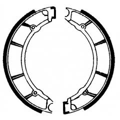 Būgninių stabdžių trinkelės FERODO 225129177