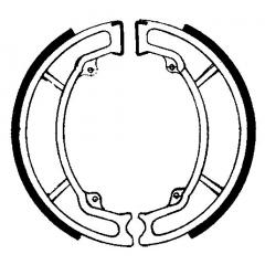 Būgninių stabdžių trinkelės FERODO 225129072