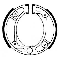 Būgninių stabdžių trinkelės FERODO 225129014