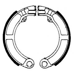 Būgninių stabdžių trinkelės FERODO 225129176