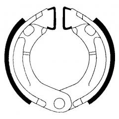 Būgninių stabdžių trinkelės FERODO 225129232
