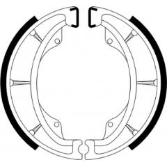 Būgninių stabdžių trinkelės FERODO 225129249
