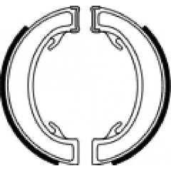 Būgninių stabdžių trinkelės FERODO 225129216