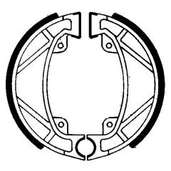 Būgninių stabdžių trinkelės FERODO 225129102