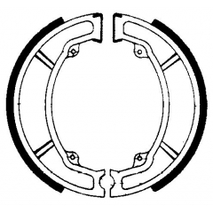 Būgninių stabdžių trinkelės FERODO 225129075