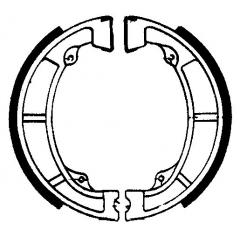 Būgninių stabdžių trinkelės FERODO 225129096