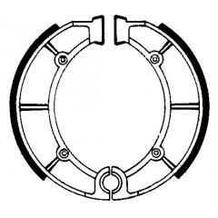 Būgninių stabdžių trinkelės FERODO 225129156