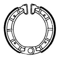 Būgninių stabdžių trinkelės FERODO 225129165
