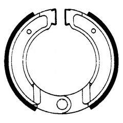 Būgninių stabdžių trinkelės FERODO 225129113