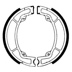 Būgninių stabdžių trinkelės FERODO 225129210