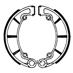Būgninių stabdžių trinkelės FERODO 225129093