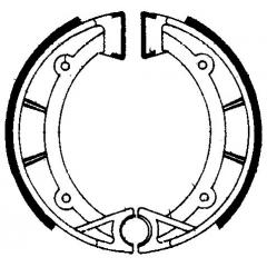 Būgninių stabdžių trinkelės FERODO 225129195