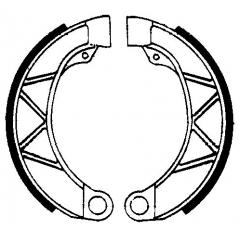 Būgninių stabdžių trinkelės FERODO 225129141