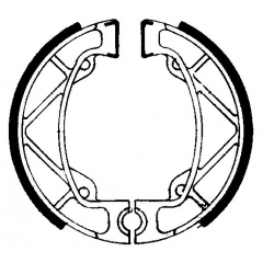 Būgninių stabdžių trinkelės FERODO 225129206