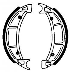 Būgninių stabdžių trinkelės FERODO 225129159