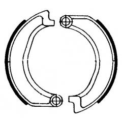 Būgninių stabdžių trinkelės FERODO 225129105