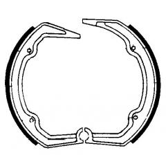 Būgninių stabdžių trinkelės FERODO 225129103