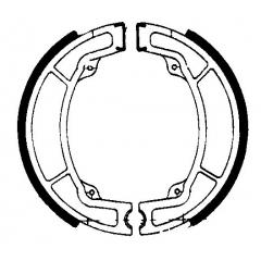 Būgninių stabdžių trinkelės FERODO 225129037
