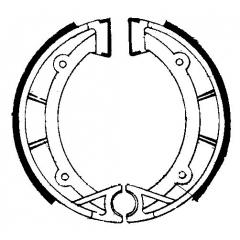 Būgninių stabdžių trinkelės FERODO 225129208