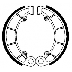 Būgninių stabdžių trinkelės FERODO 225129061