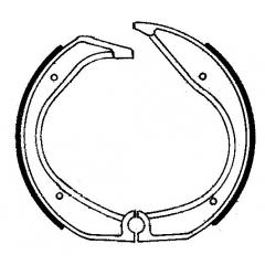 Būgninių stabdžių trinkelės FERODO 225129001