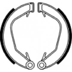 Būgninių stabdžių trinkelės FERODO 225129219