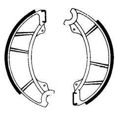 Būgninių stabdžių trinkelės FERODO 225129099