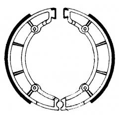 Būgninių stabdžių trinkelės FERODO 225129178
