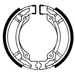 Būgninių stabdžių trinkelės FERODO 225129180