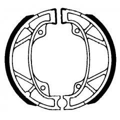 Būgninių stabdžių trinkelės FERODO 225129211