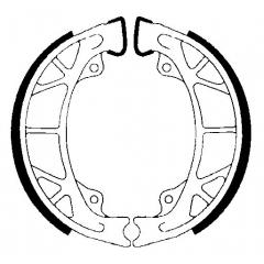 Būgninių stabdžių trinkelės FERODO 225129236