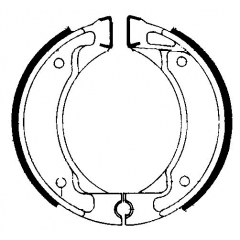 Būgninių stabdžių trinkelės FERODO 225129038