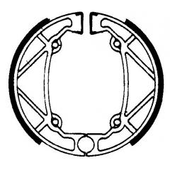 Būgninių stabdžių trinkelės FERODO 225129136