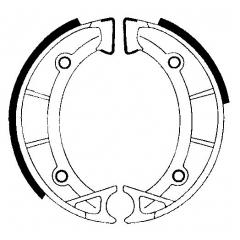 Būgninių stabdžių trinkelės FERODO 225129234