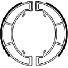 Būgninių stabdžių trinkelės FERODO 225129218