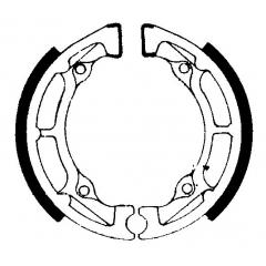 Būgninių stabdžių trinkelės FERODO 225129026