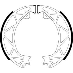 Būgninių stabdžių trinkelės FERODO 225129245
