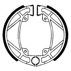 Būgninių stabdžių trinkelės FERODO 225129068